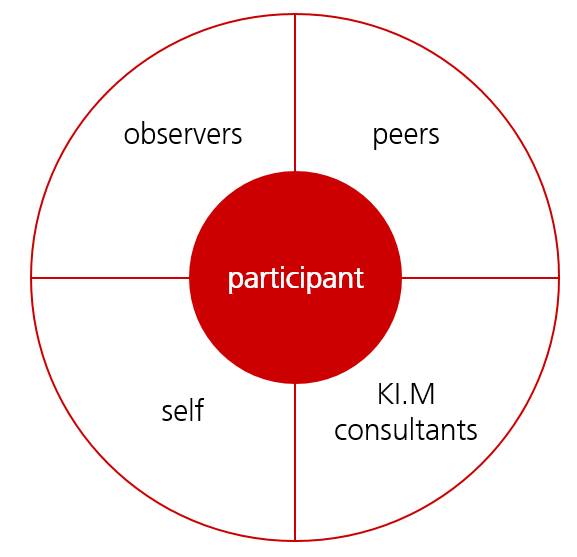 Different perspectives on the participant´s competences