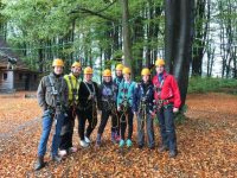 Teamevent: Hochseilgarten