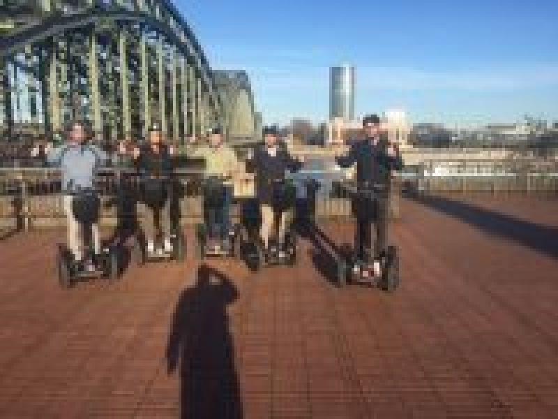 Teamevent: Seqway-Tour durch Köln